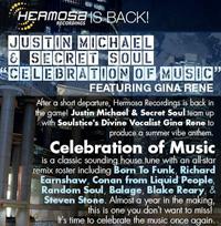 Justin Michael & Secret Soul feat. Gina Rene - Celebration of Music